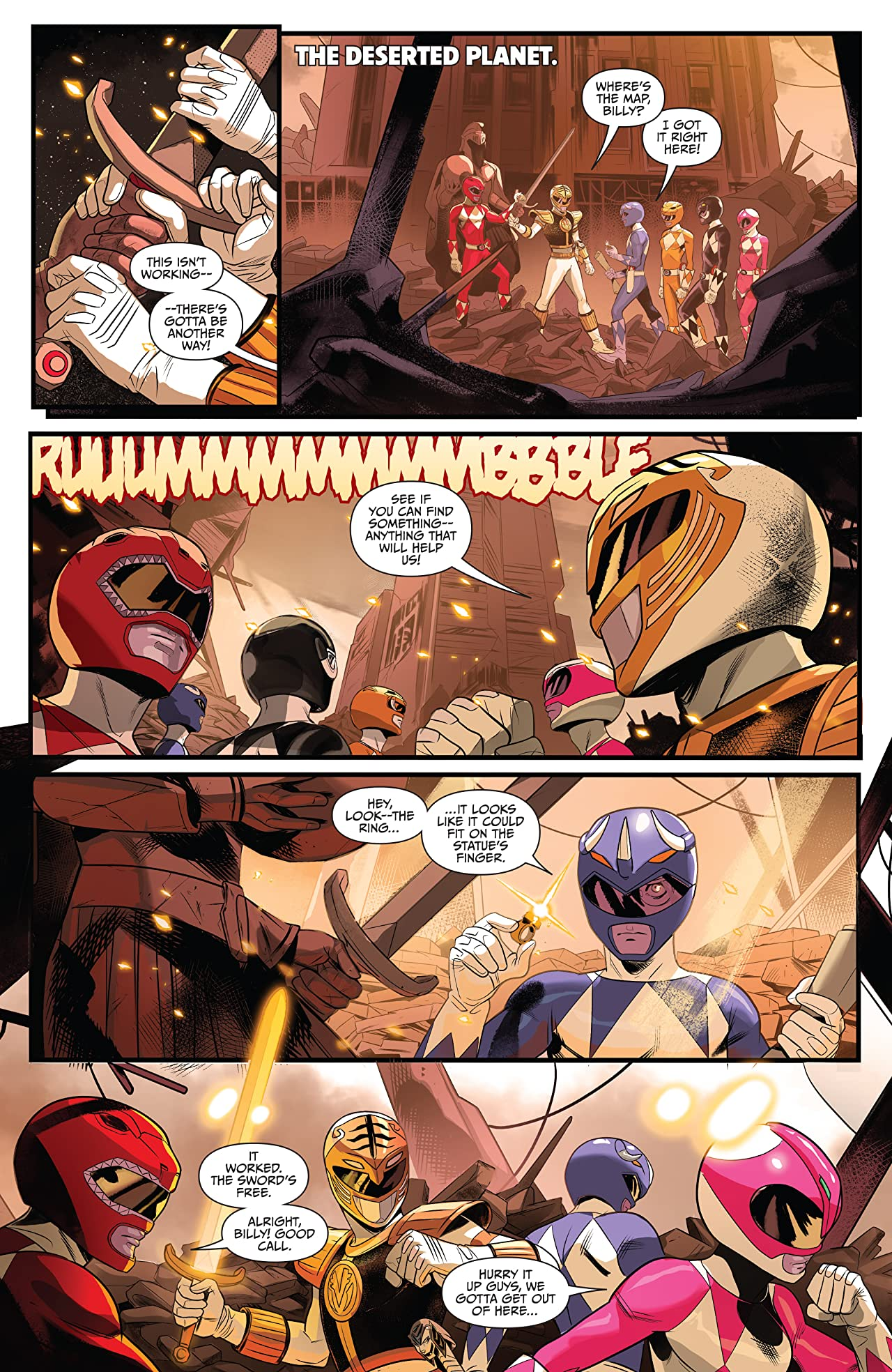 Saban's Go Go Power Rangers #32