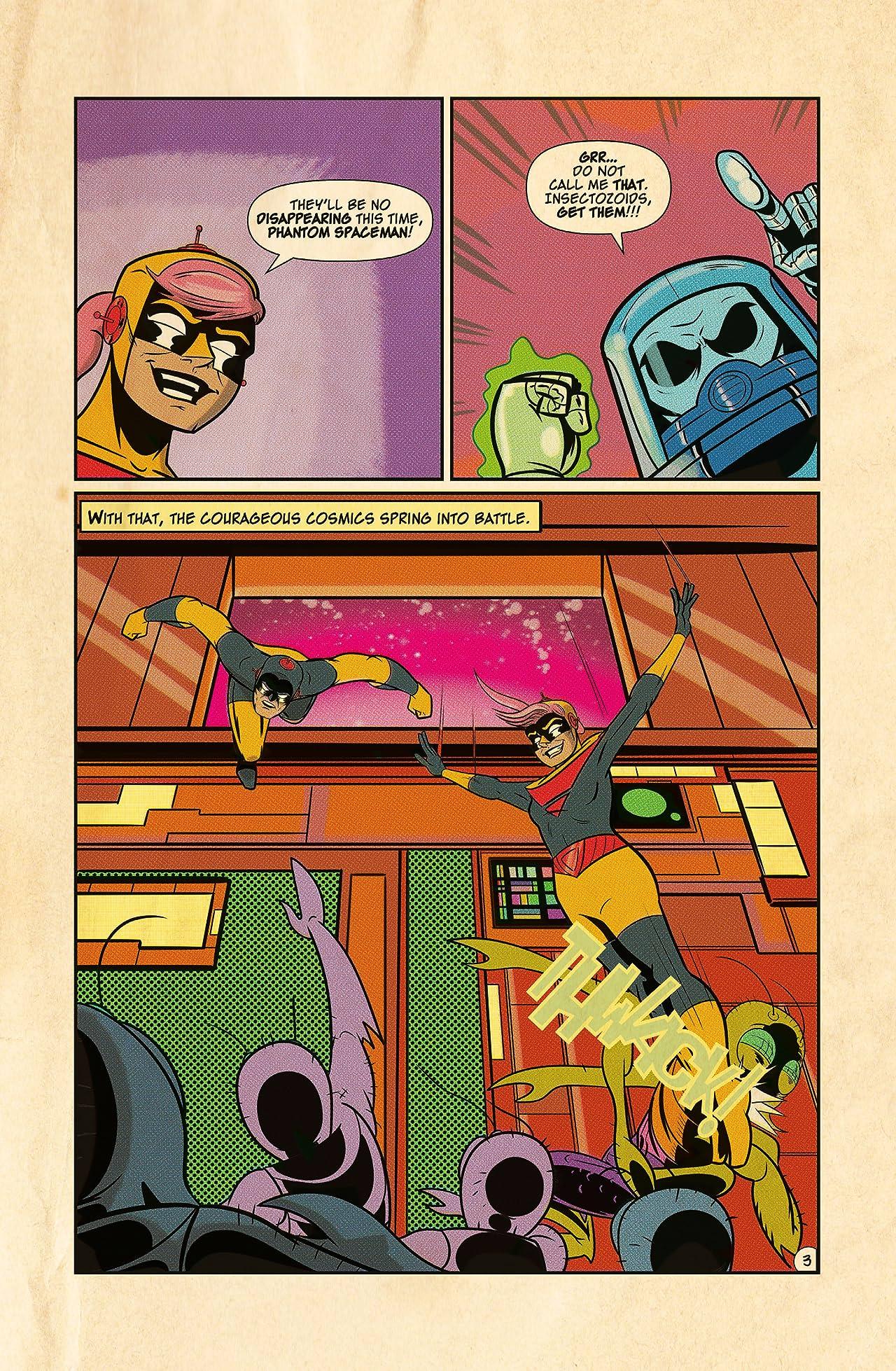 The Adventures of Captain Cosmic #3