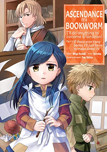 Ascendance of a Bookworm Tome 4