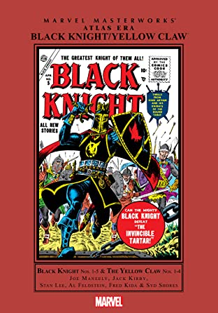 Atlas Era Black Knight/Yellow Claw Masterworks Tome 1