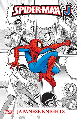 Spider-Man J Tome 1: Japanese Knights