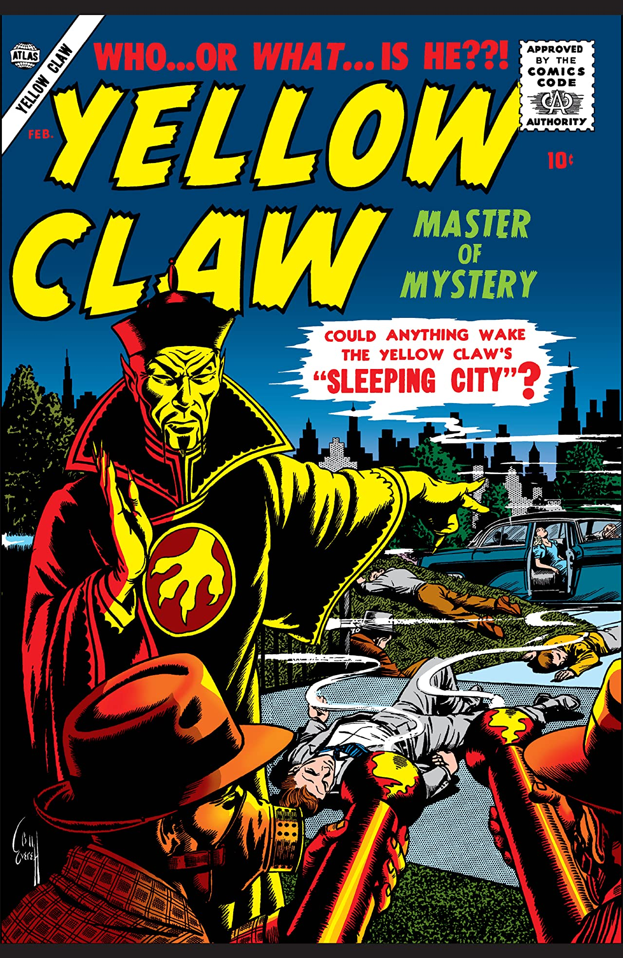 Yellow Claw (1956-1957) #3