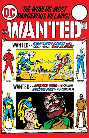 Wanted: The World's Most Dangerous Villains (1972-1973) #8