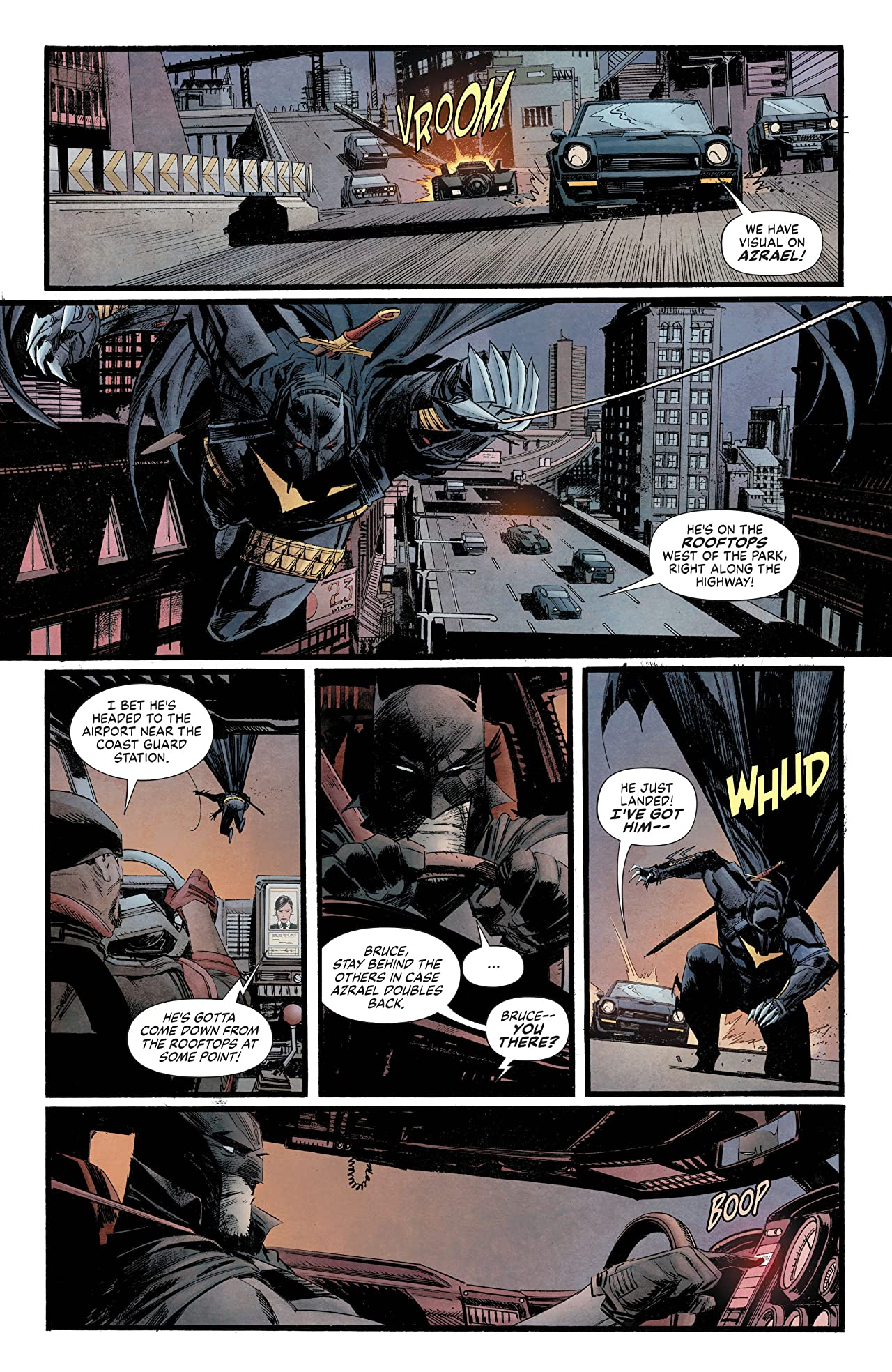 Batman: Curse of the White Knight (2019-) #8