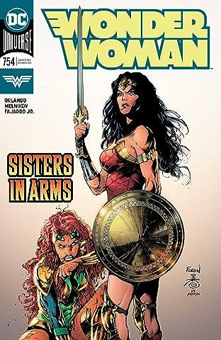 Wonder Woman (2016-) #754