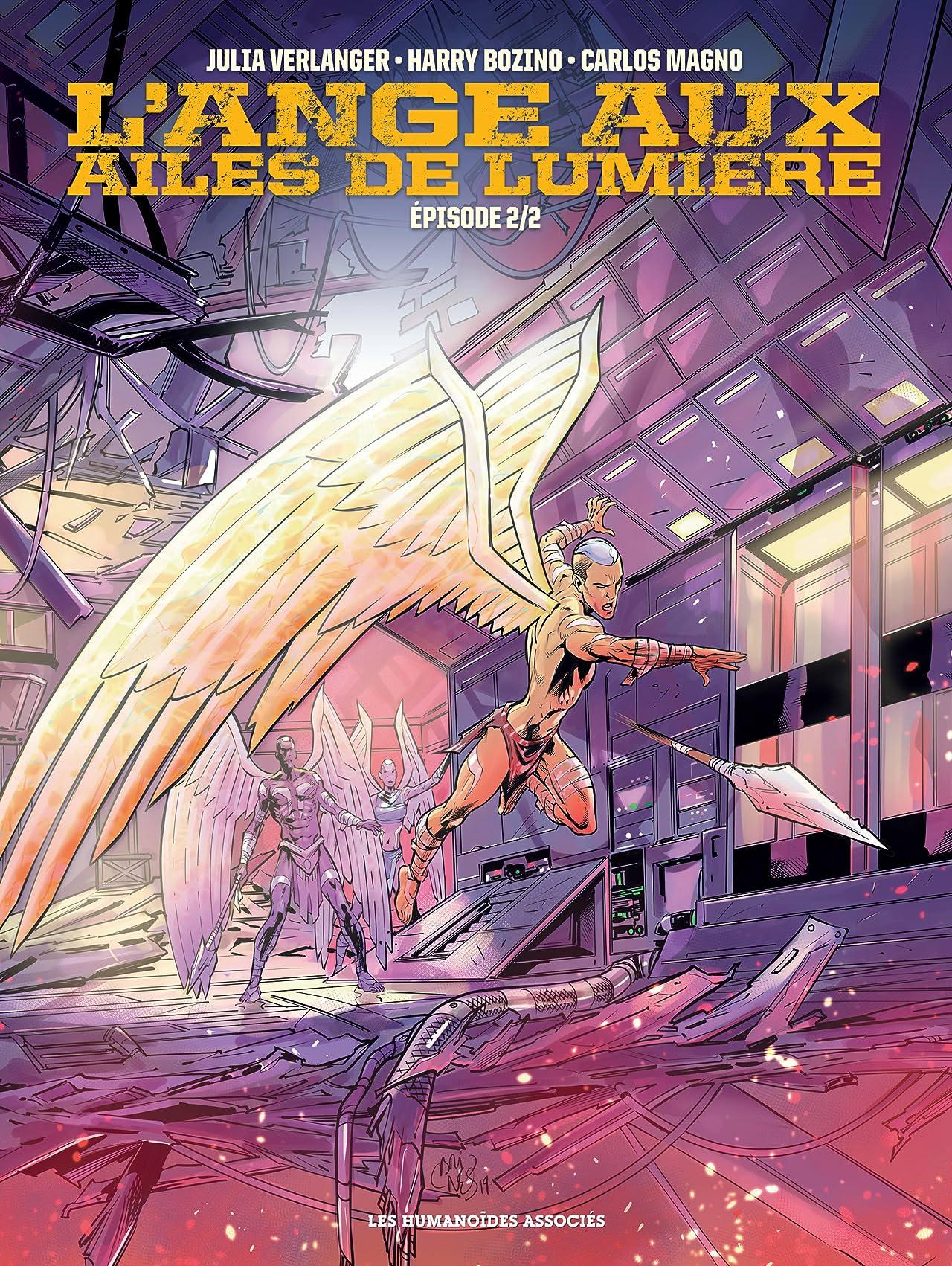 L'Ange aux ailes de lumière Tome 2