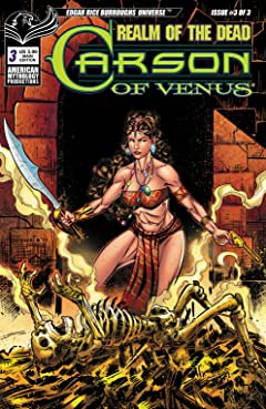 ERB Carson of Venus #3: Realm of the Dead