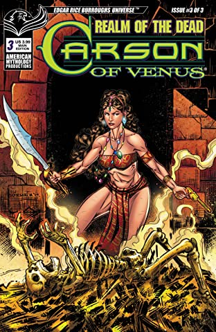 ERB Carson of Venus No.3: Realm of the Dead