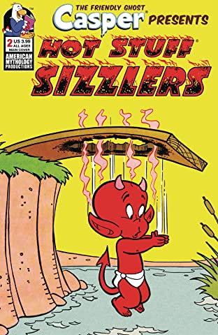 Casper Presents Hot Stuff Sizzlers #2