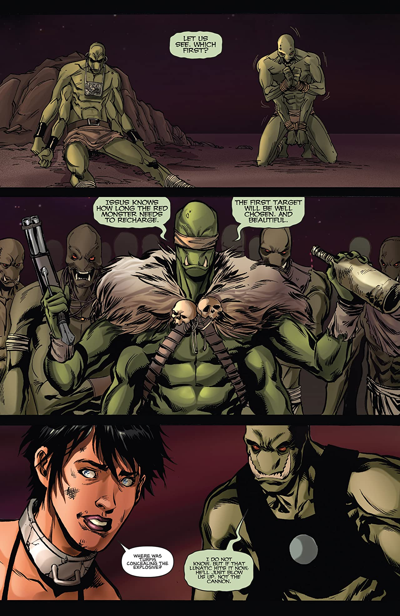 Dejah Thoris and the Green Men of Mars #12 (of 12)