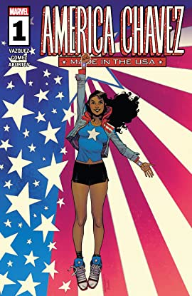 America Chavez: Made In The USA (2021) #1 (of 5)