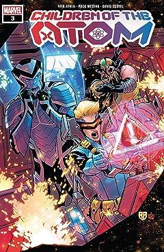 Children Of The Atom (2021-) #3