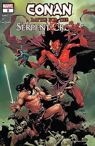 Conan: Battle For The Serpent Crown (2020) No.5 (sur 5)