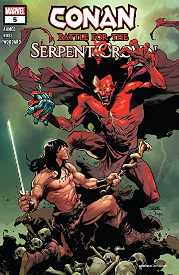 Conan: Battle For The Serpent Crown (2020) No.5 (sur 5)