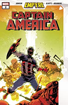Empyre: Captain America (2020) #2 (of 3)