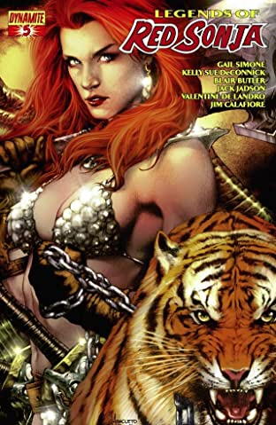 Legends of Red Sonja No.5 (sur 5): Digital Exclusive Edition