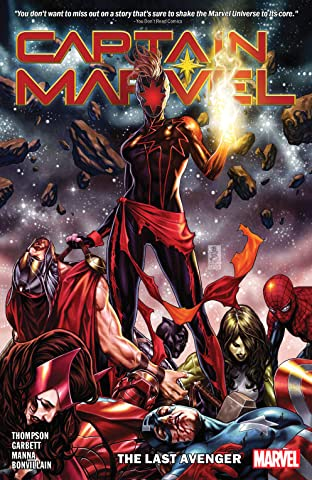 Captain Marvel Tome 3: The Last Avenger