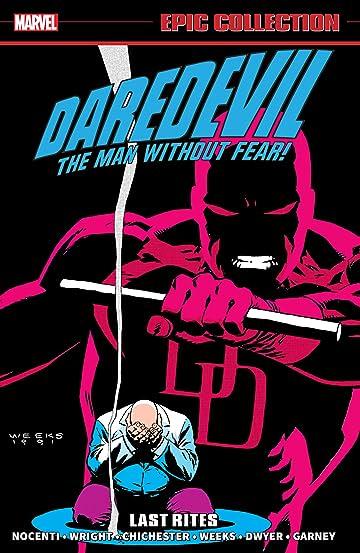 Daredevil Epic Collection: Last Rites