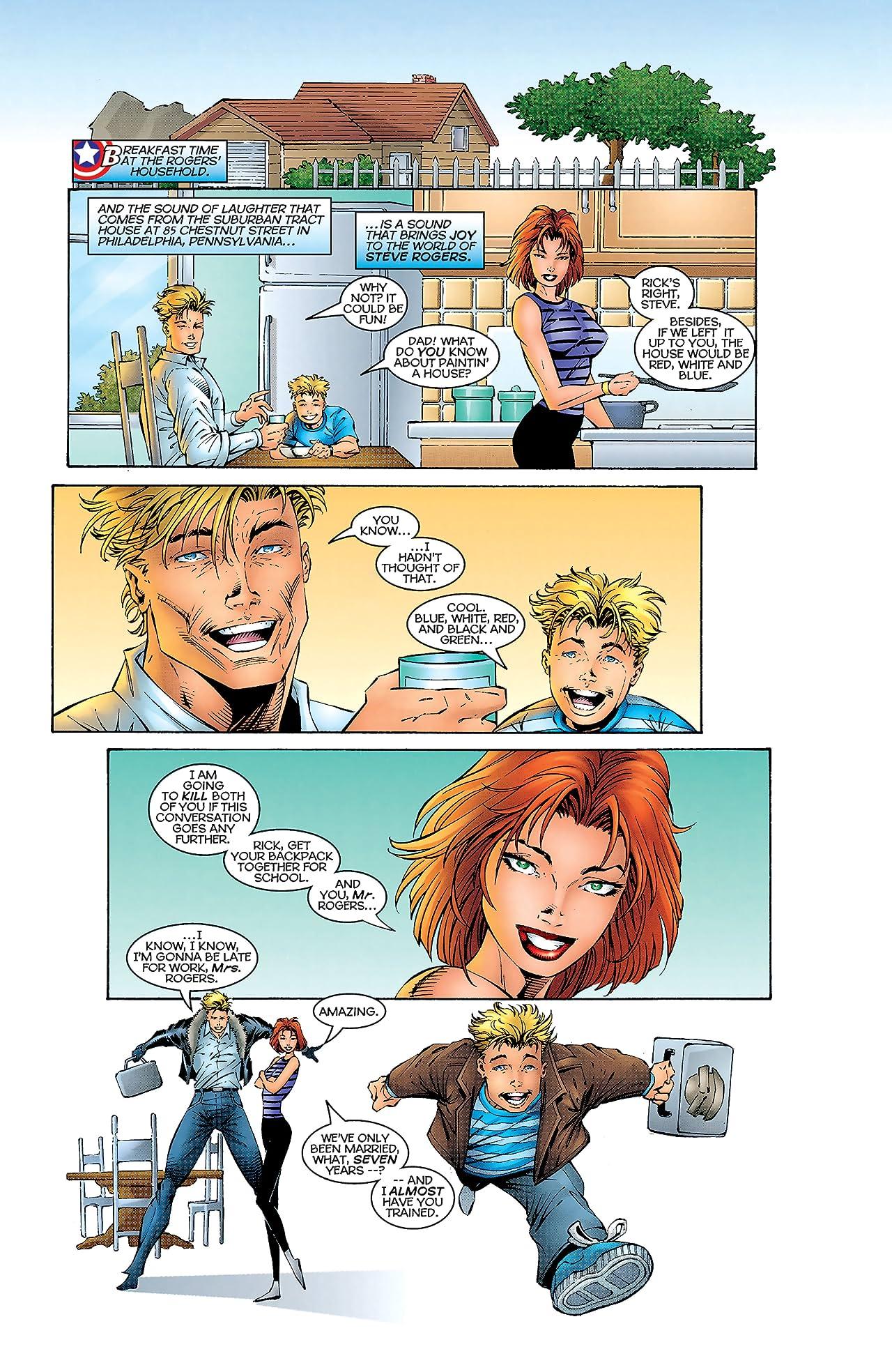 Heroes Reborn: Captain America