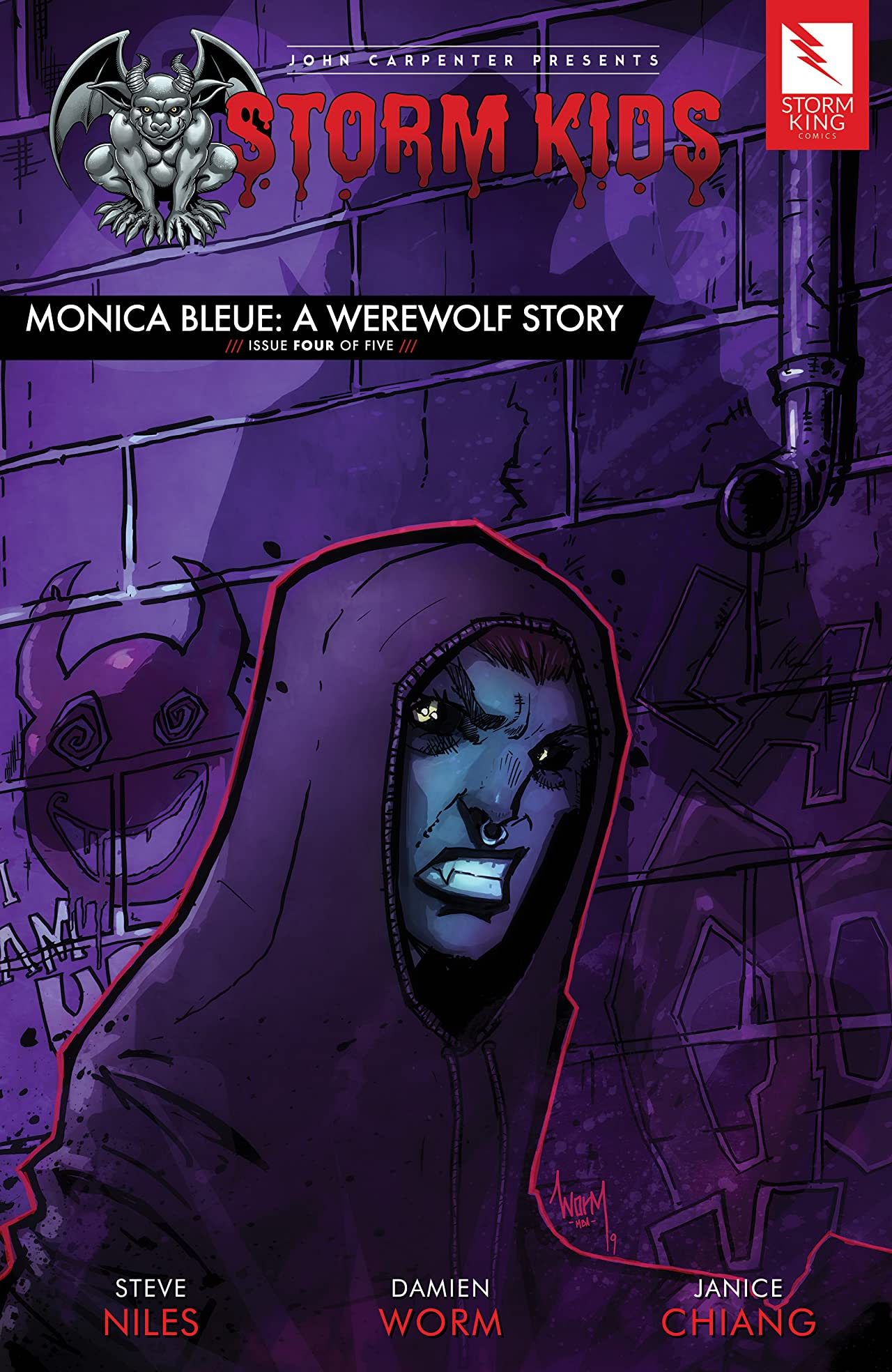John Carpenter Presents Storm Kids: MONICA BLEUE: A WEREWOLF STORY #4