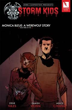 John Carpenter Presents Storm Kids: MONICA BLEUE: A WEREWOLF STORY #5