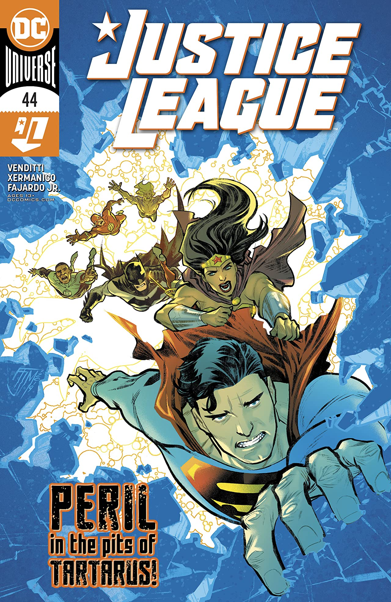Justice League (2018-) No.44