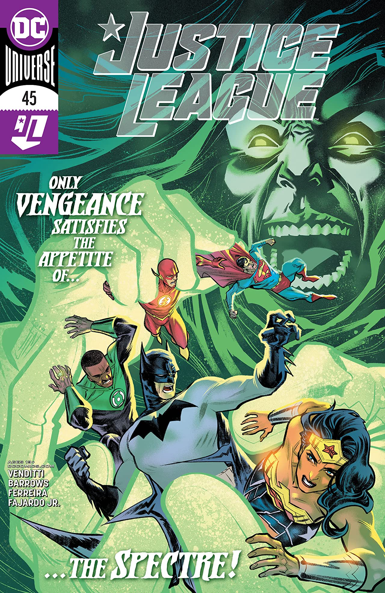 Justice League (2018-) No.45