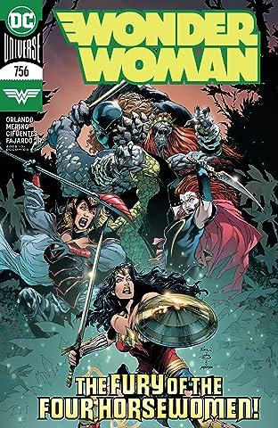 Wonder Woman (2016-) #756