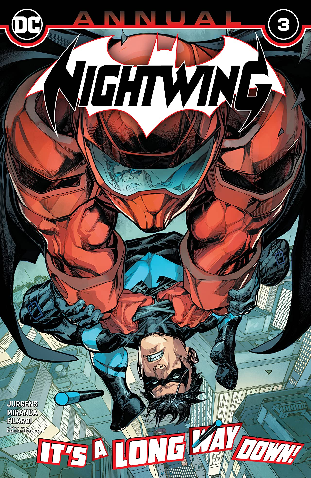 Nightwing (2016-) Annual No.3