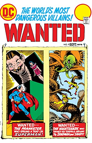 Wanted: The World's Most Dangerous Villains (1972-1973) #9