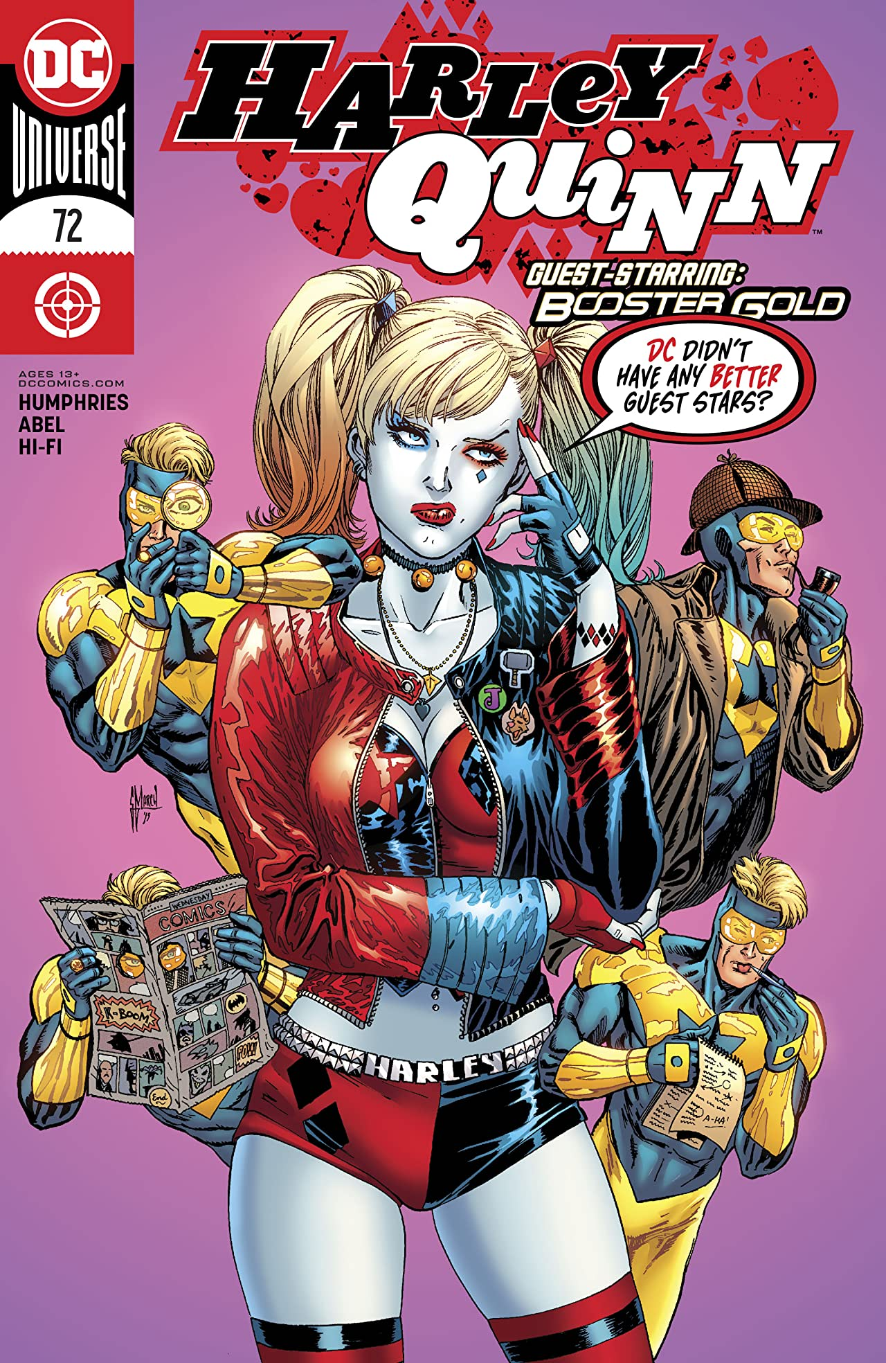 Harley Quinn (2016-) #72