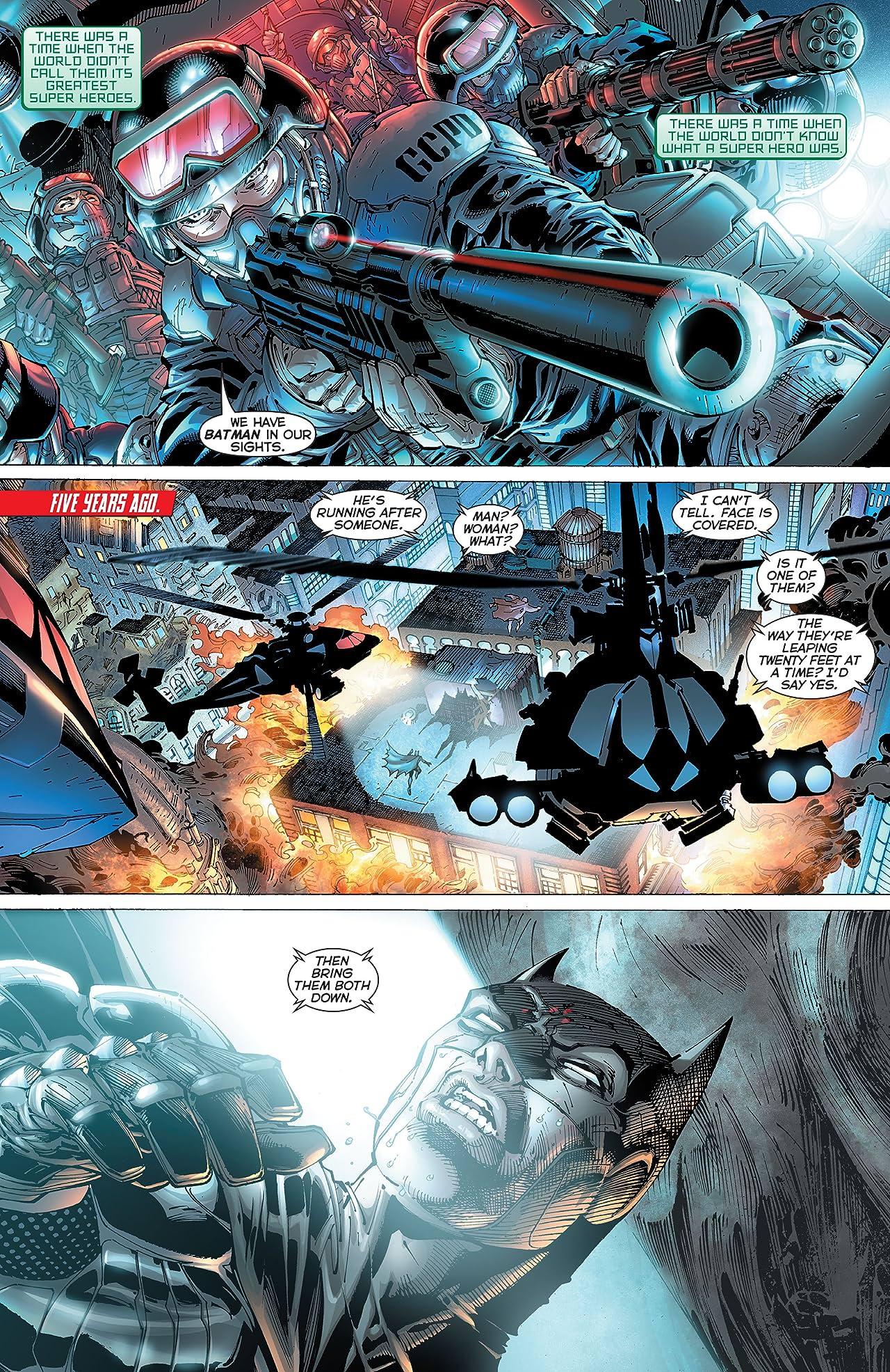 Justice League: Origin Deluxe Edition