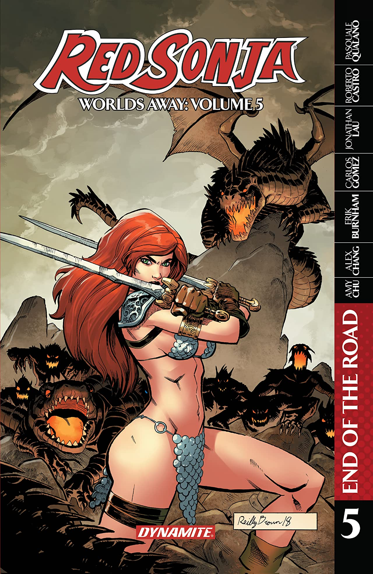 Red Sonja: Worlds Away Vol. 5: End of the Road