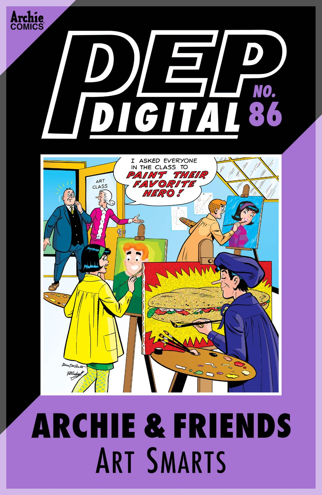 PEP Digital #86: Archie & Friends Art Smarts
