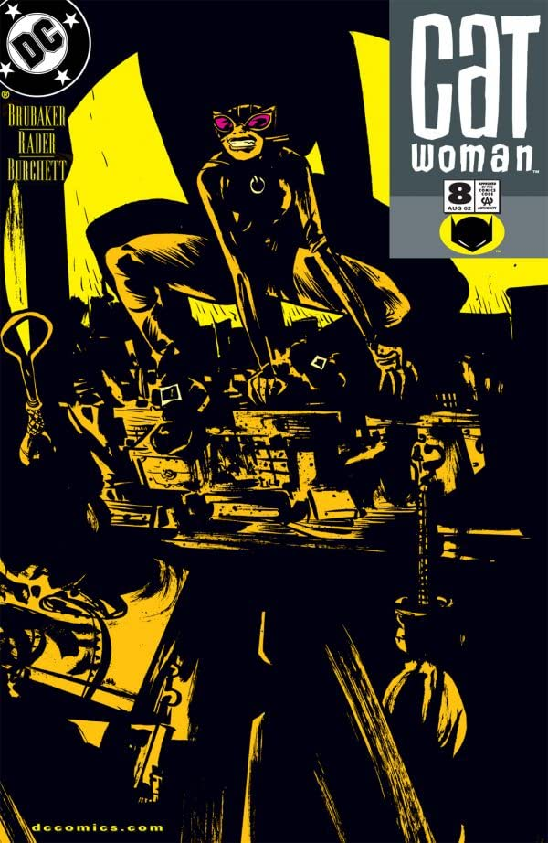Catwoman (2002-2008) #8