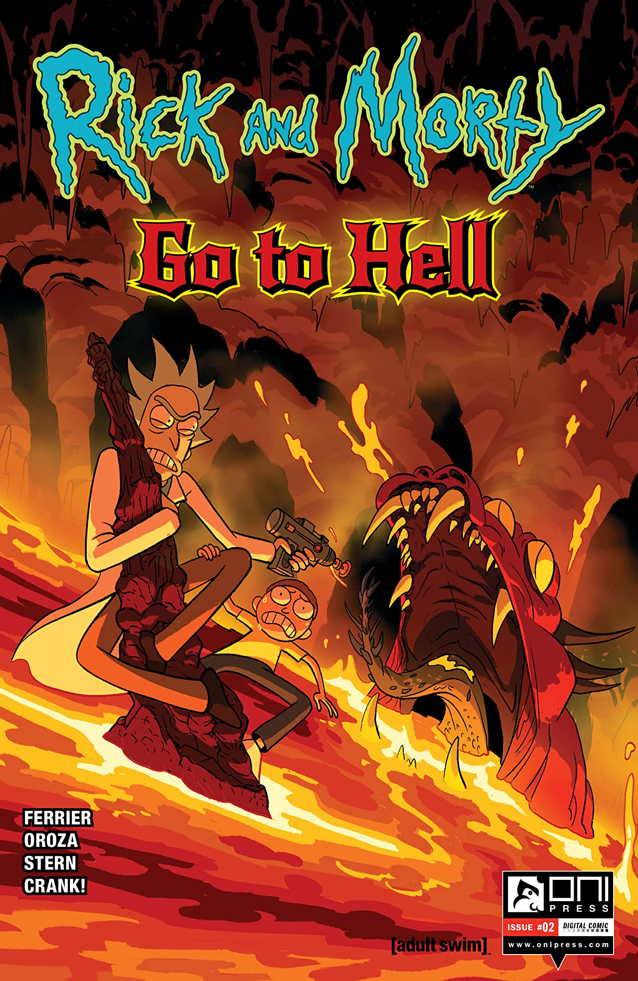 Rick and Morty #2: Go To Hell