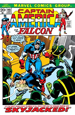 Captain America (1968-1996) #145