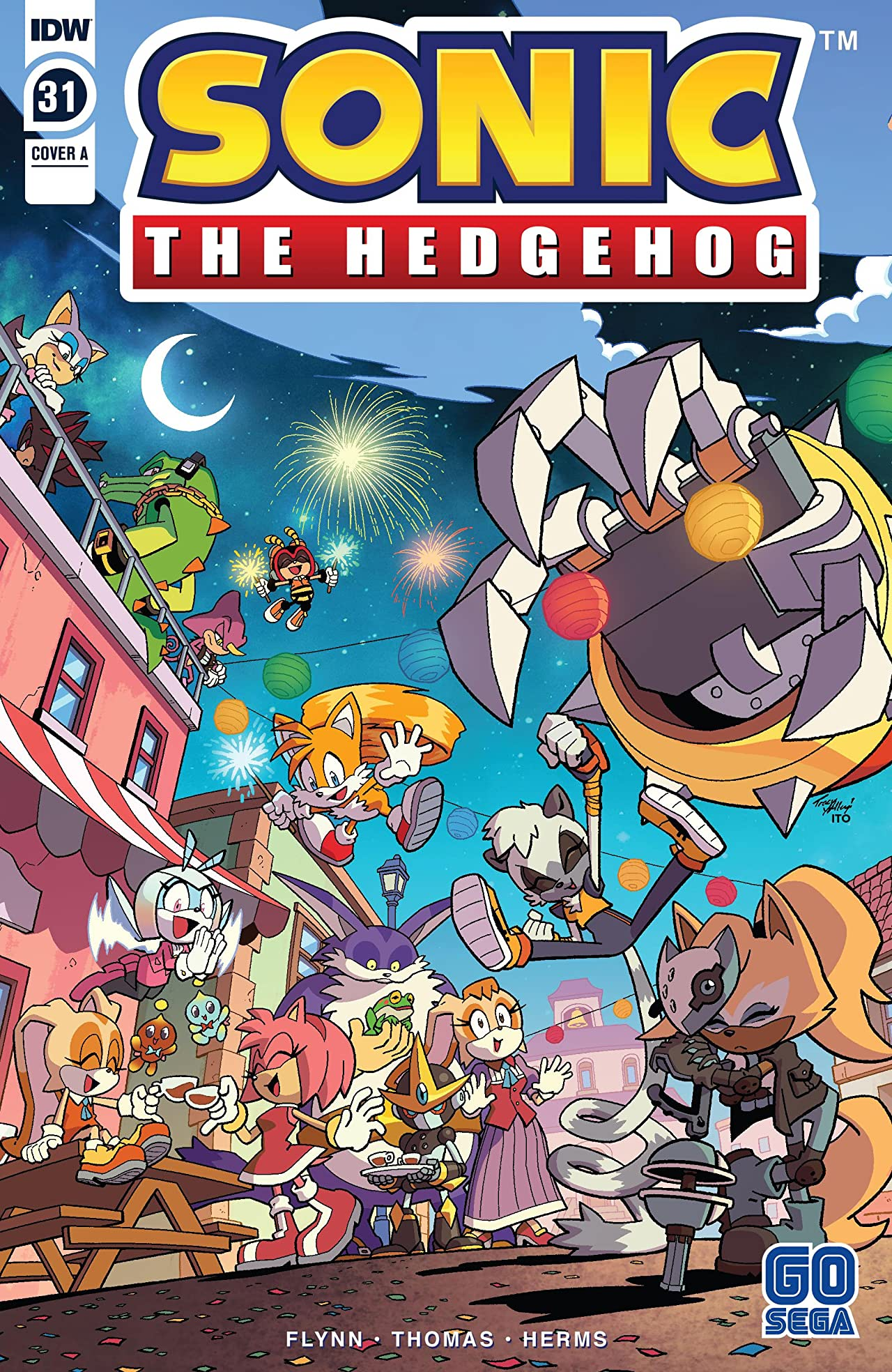 Sonic The Hedgehog (2018-) #31