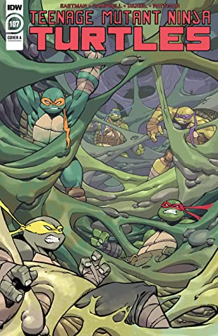 Teenage Mutant Ninja Turtles #107