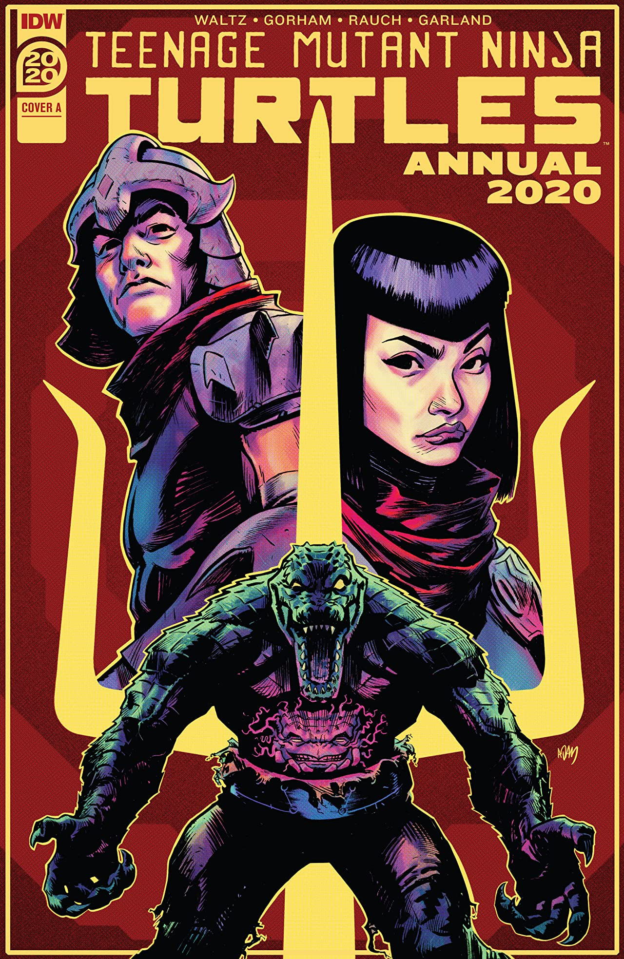 Teenage Mutant Ninja Turtles Annual 2020