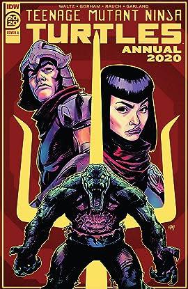 Teenage Mutant Ninja Turtles Annual 2020