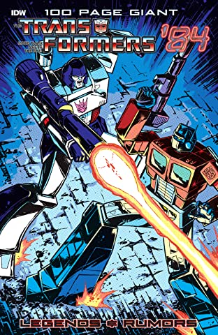 Transformers '84: Legends & Rumors 100-Page Giant