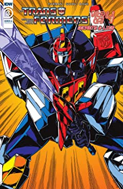 Transformers '84: Secrets and Lies #3 (of 4)