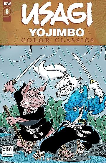 Usagi Yojimbo Color Classics #6