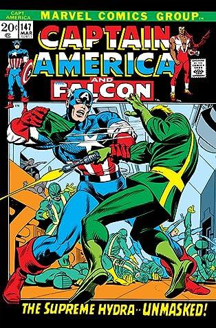 Captain America (1968-1996) #147
