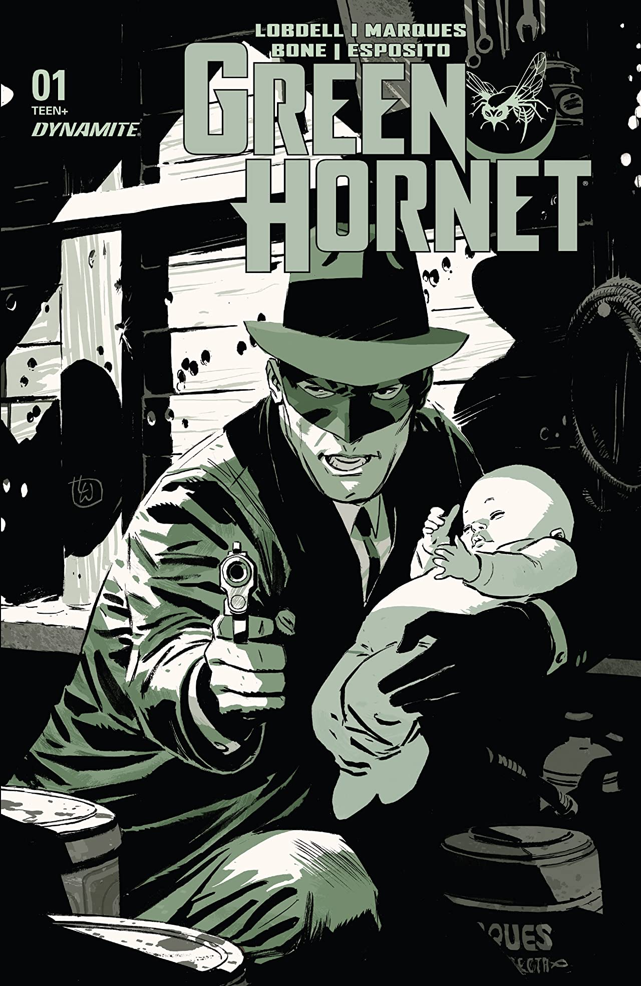 The Green Hornet (2020) No.1