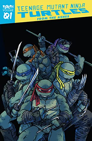 Teenage Mutant Ninja Turtles: Reborn Tome 1: From The Ashes