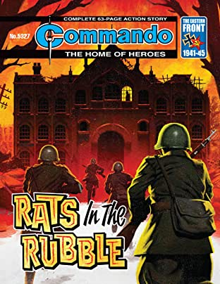 Commando No.5327: Rats In The Rubble