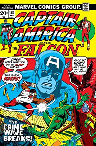 Captain America (1968-1996) #158