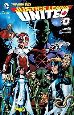 Justice League United (2014-2015) #0